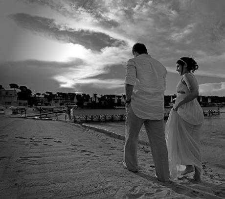 Photographe de mariage au Cap d'Antibes